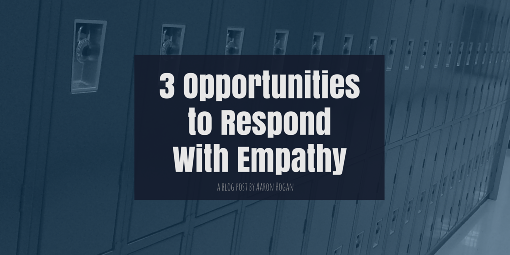 3 Opportunities to Respond With Empathy - Leading, Learning, Questioning