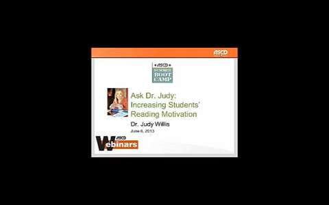 Ask Dr. Judy: Increasing Students' Reading Motivation