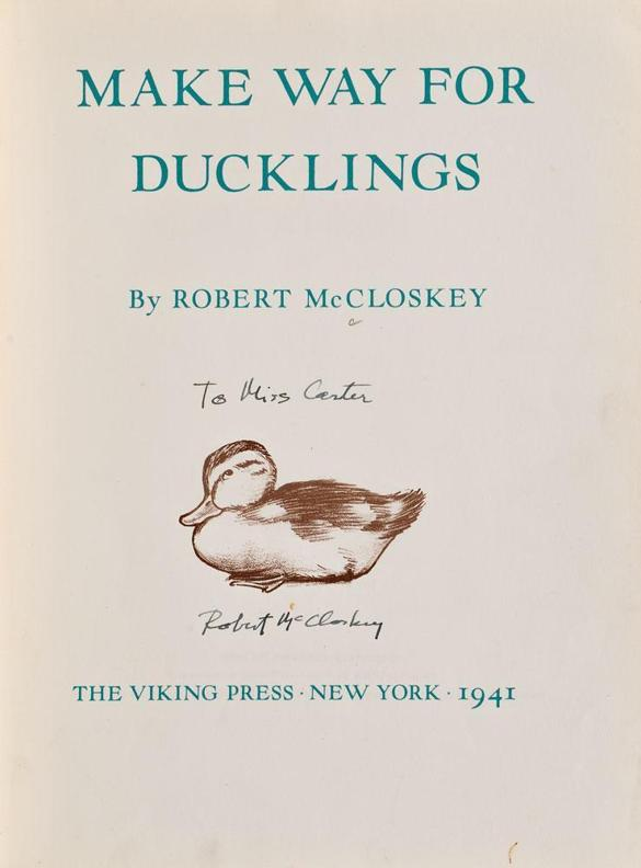 'Make Way for Ducklings' is still a valued childhood favorite - The Boston Globe