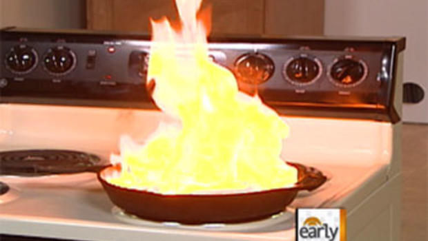How to Handle Kitchen Fires