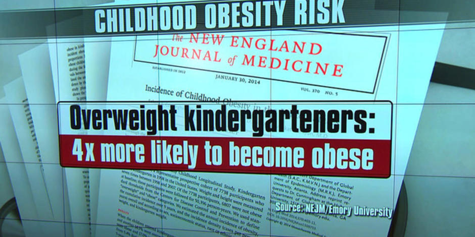 Obesity can set in by age 5, study says