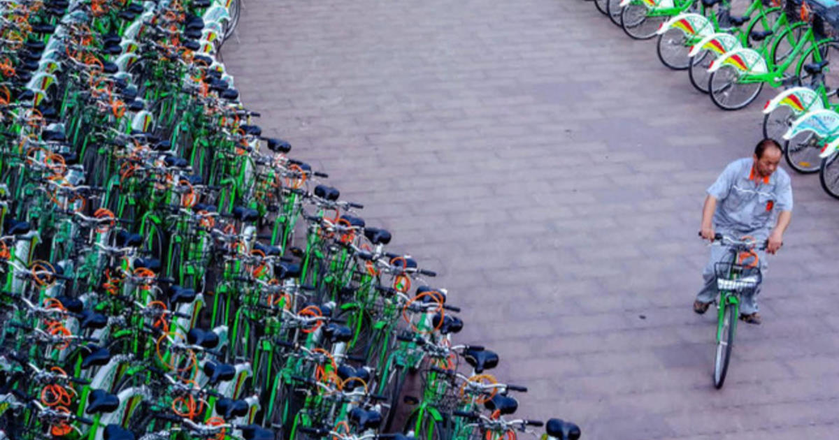 Beijing turns to bike shares to help cut pollution, congestion