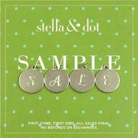 Semi Annual Stella & Dot December 9th Sample SALE!