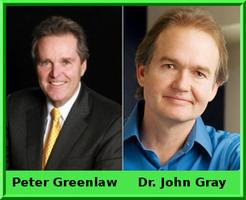 Special Event:  Peter Greenlaw and Dr. John Gray in Oak Brook, Illinois