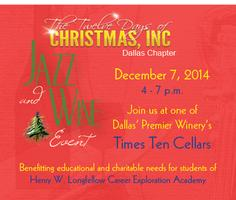 Twelve Days of Christmas, Dallas Chapter Jazz & Wine, Holiday Event