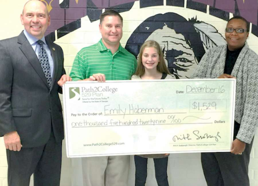 ​East Coweta Middle student wins college savings