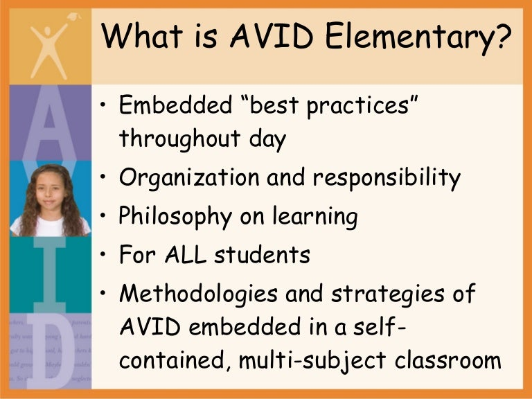What is AVID Elementary?