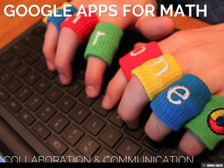 Google Apps and Math