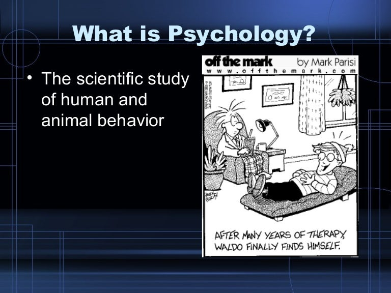 Intro To  Psychology Chap 1