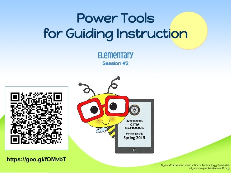 Power Tools for Guiding Instruction (k6)  Session 2