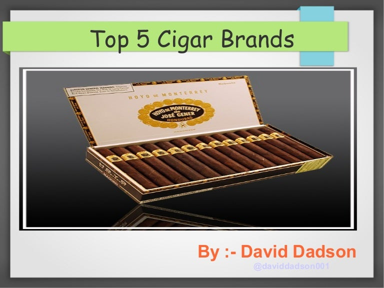 Top 5 cigar brands
