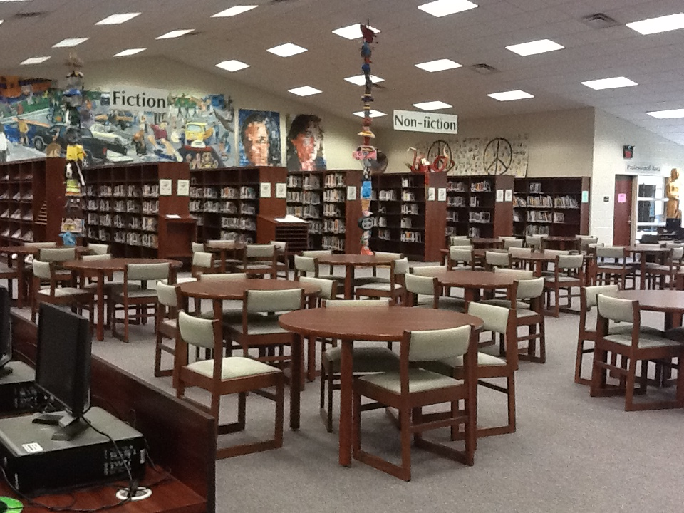 South Central HS Media Center by Paula Elks