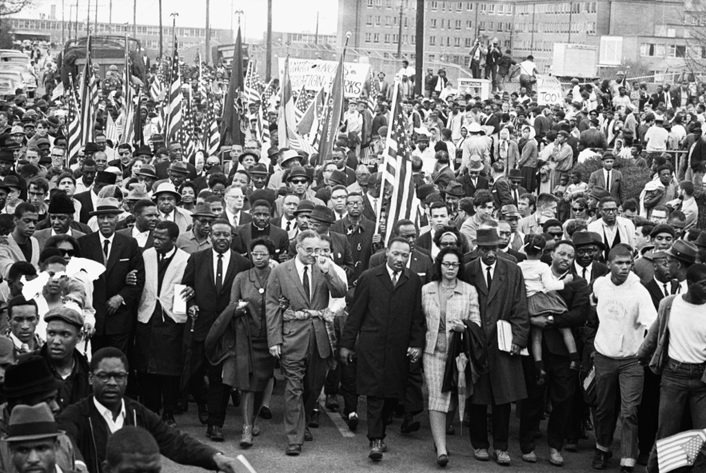 This is one of the marches Martin Luther King Jr led duri... by Damischa Taylor5
