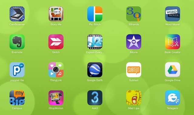 Jo-Ann Fox's One Screen of Creative Apps by MrsFox