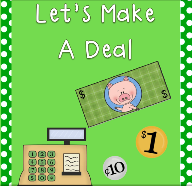 Let's make a Deal (with Unit Rate)! by Tara Gander