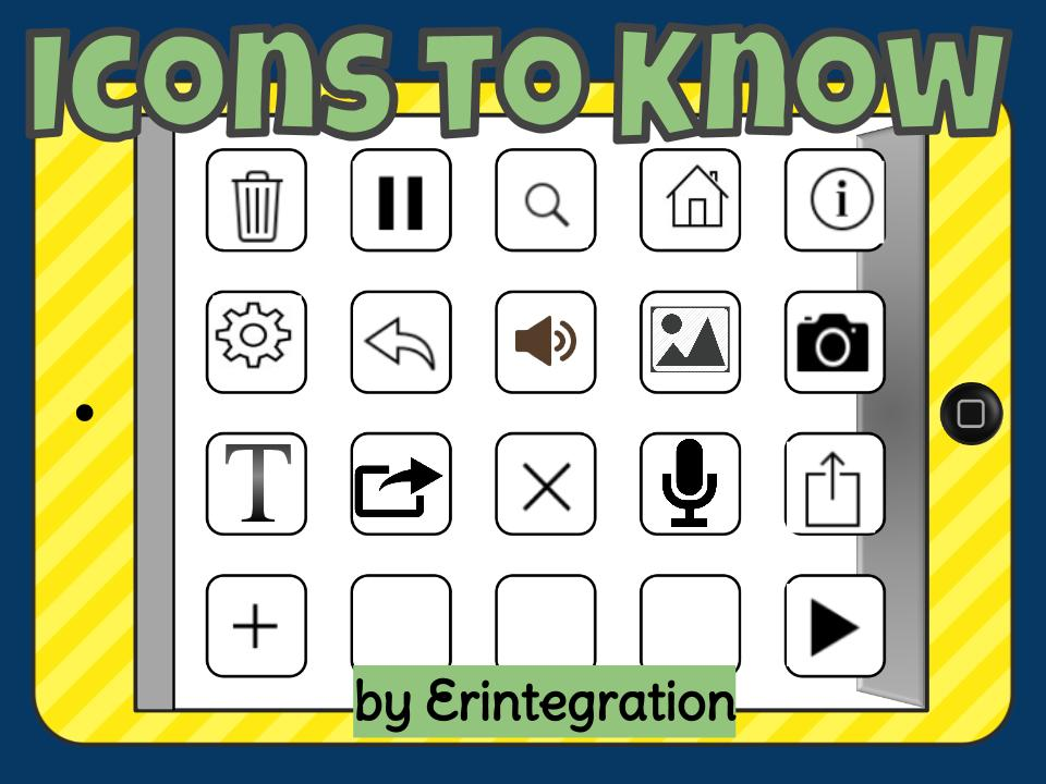 Universal icons to teach students by Ms_3F