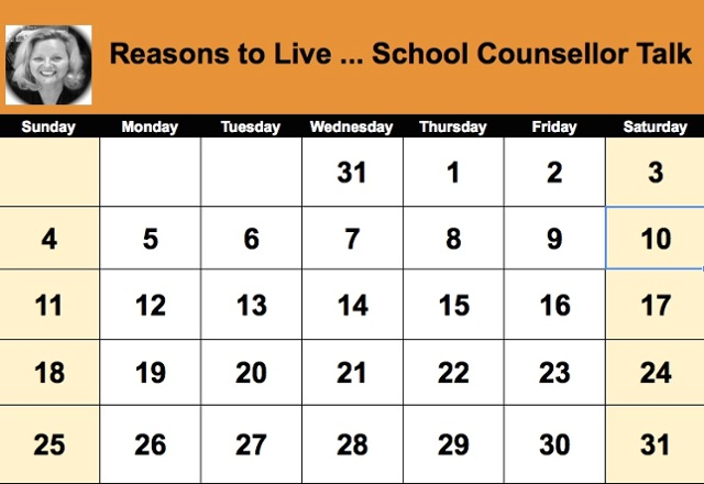 Reasons to Live ... School Counsellor Talk by Susan Spellman Cann