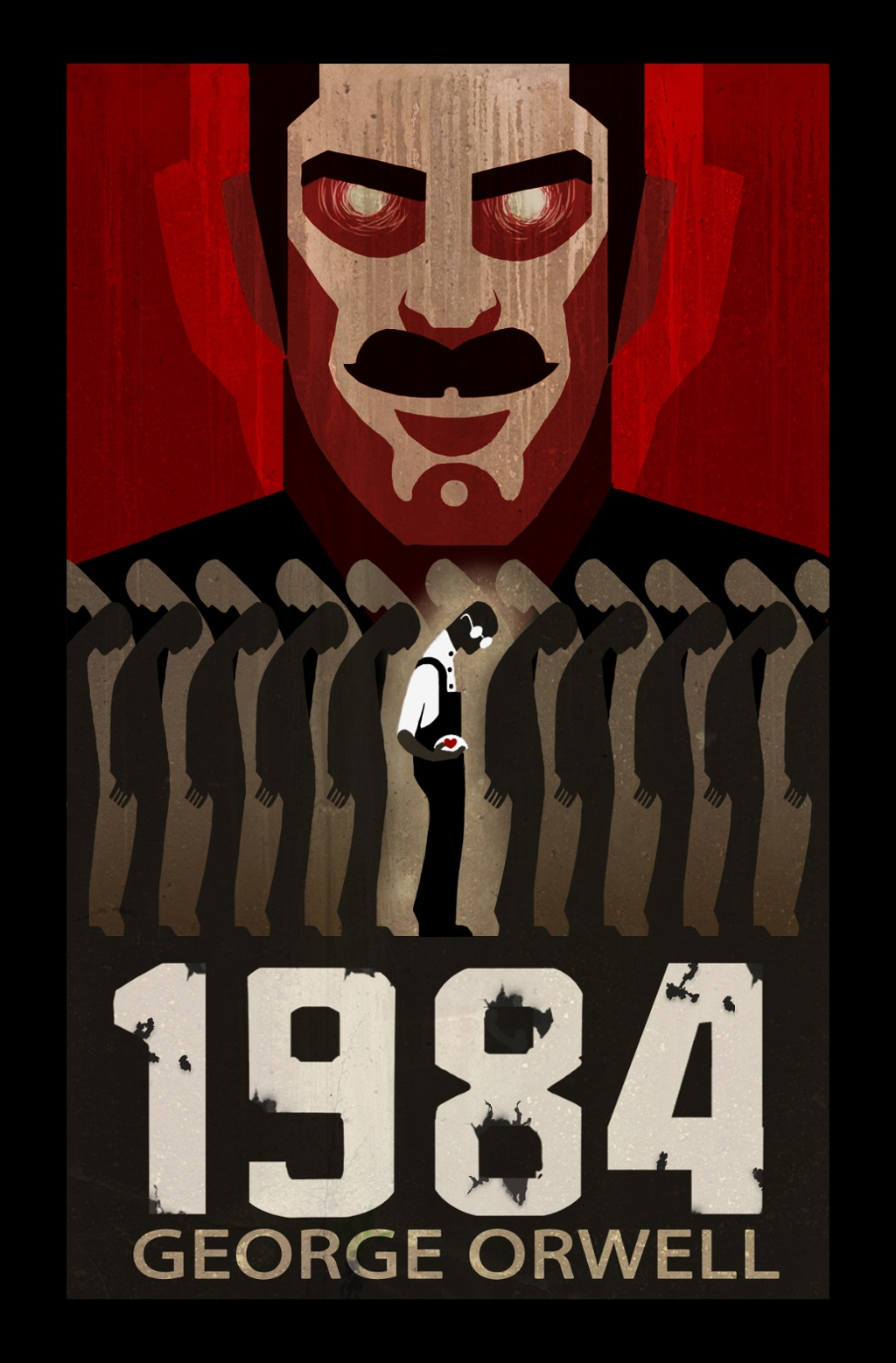 "George Orwell's ""1984"" by Dora McCafferty"