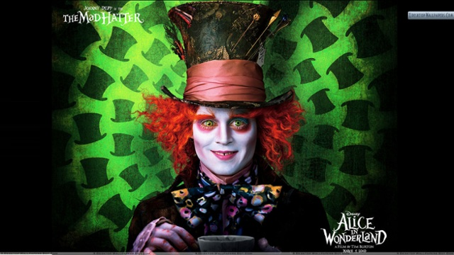 Mad hhatter!!, Mad hatter (JOHNNY DEPP), the mad hatter(D... by Laura Placeres