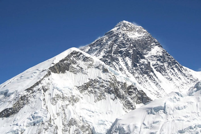 Mt. Everest by Anna