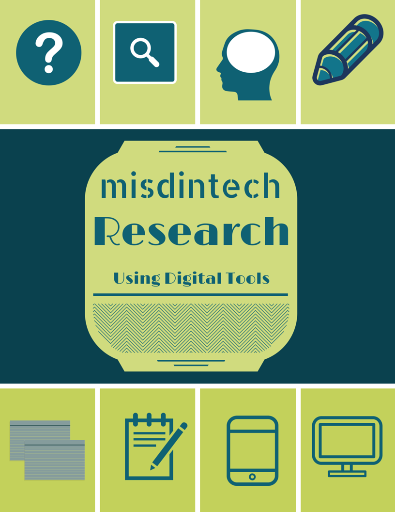 Research Using Digital Tools - misdintech iPlayground by Minshew63
