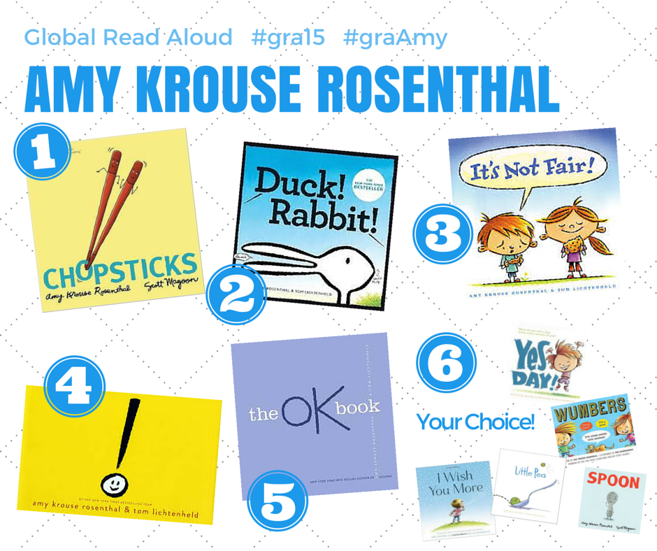 Global Read Aloud - Amy Krouse Rosenthal by Meghan Zigmond