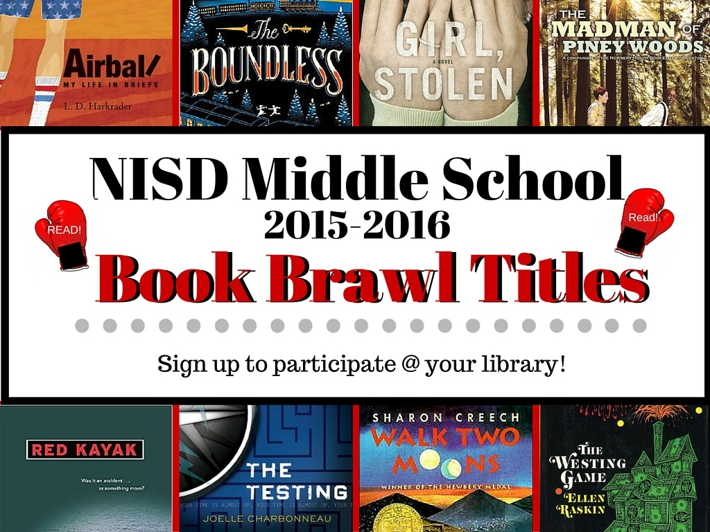 NISD Middle School Book Brawl 2015-2016 by Sue Fitzgerald