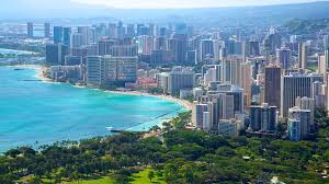 Honolulu is 86 square miles long and is 15 feet above sea... by Sha'Maiya