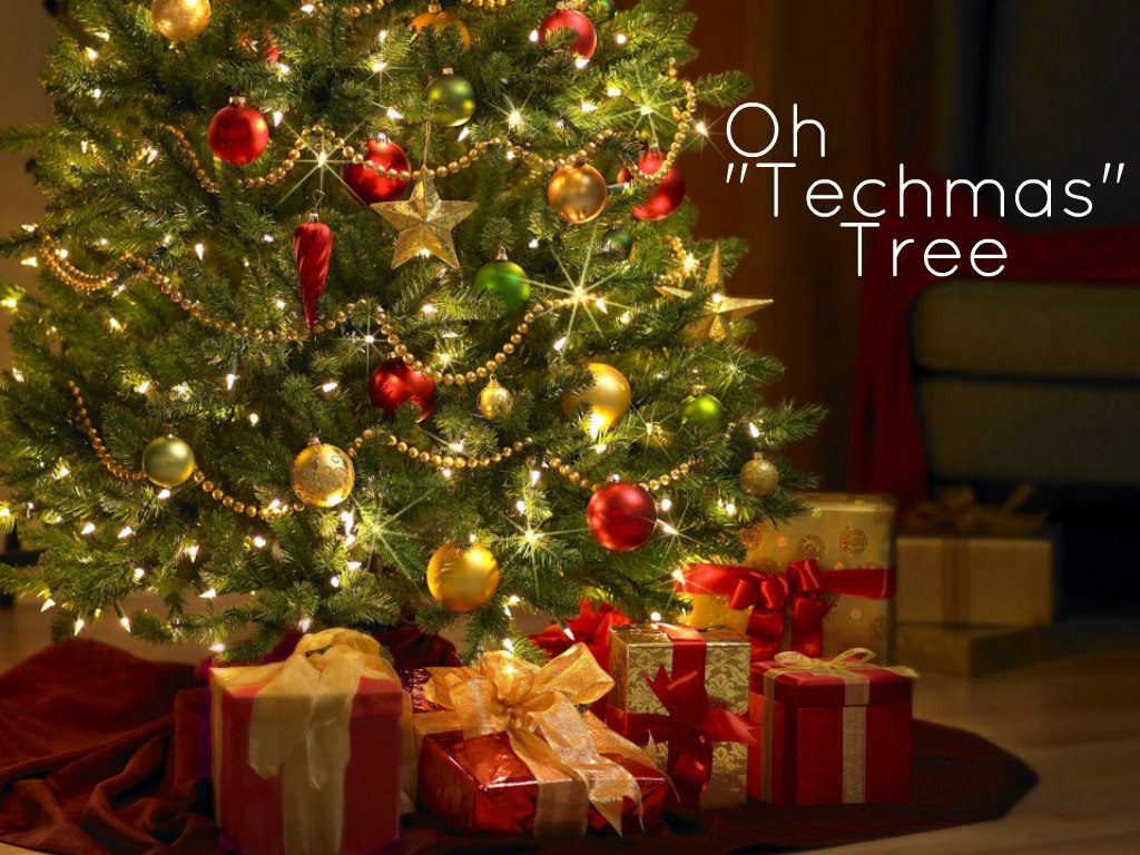 "Oh ""Techmas"" Tree by Tara Gander"