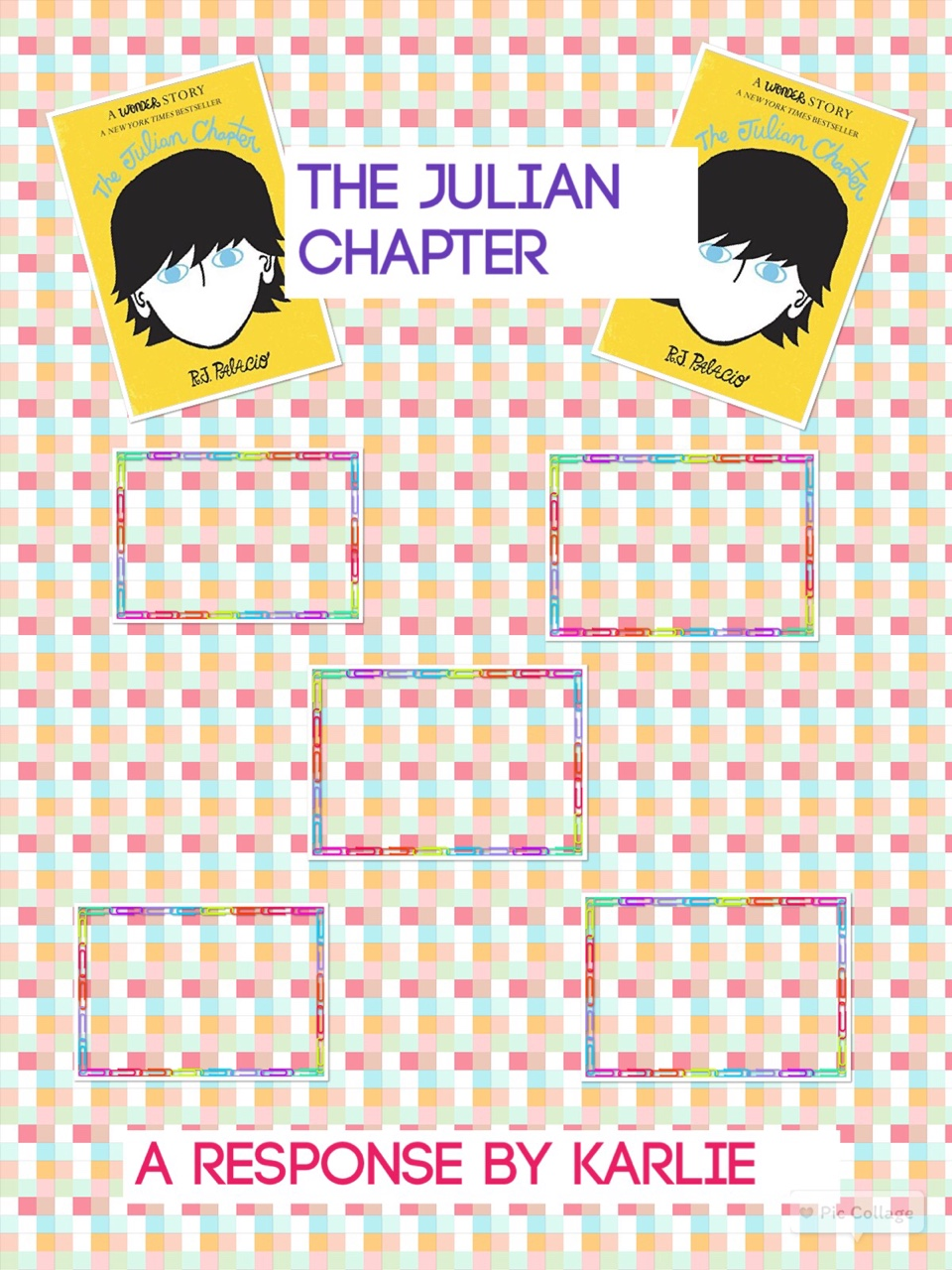 The End - The Julian Chapter - Final Thoughts by A happy ThingLink User