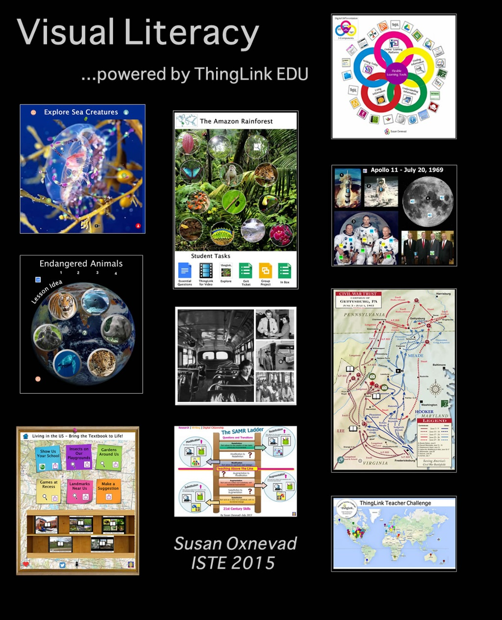 "Remix of ""Visual Literacy - ISTE 2015"" by Susan Fisher"