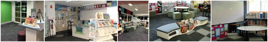 The Makerspace, Reference,Wave Seating, Collaboration Corner by JSSALC