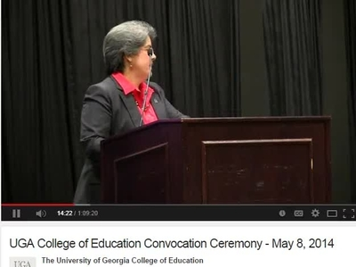 UGA College of Education Convocation Ceremony May 8 2014.mp4.ns