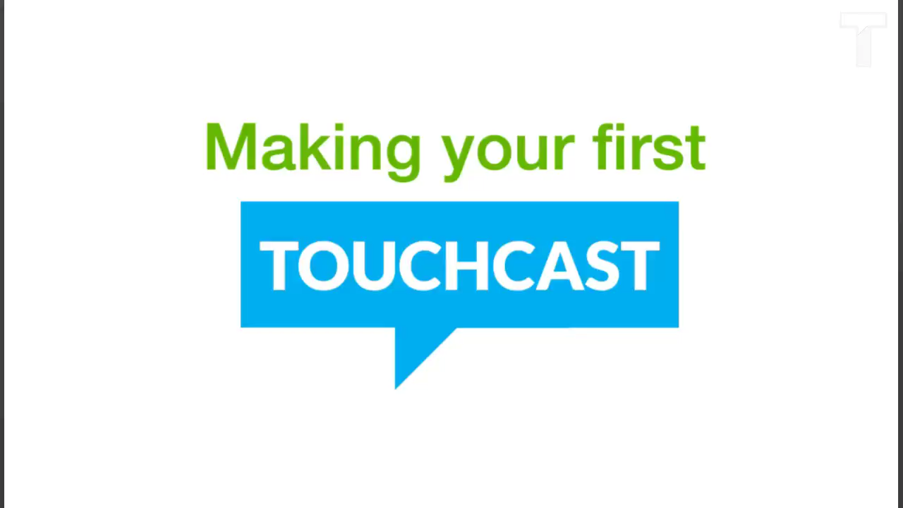 Making Your First TouchCast TC Tutorial