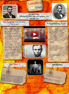Lincoln's Last Days: abraham lincoln, arts, bill o'reilly, book, book reports, Én, en, én, ford's theatre, good friday | Glogster EDU - 21st century multimedia tool for educators, teachers and students