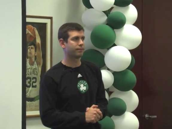 Brad Stevens: How Teammates Help Each Other Improve