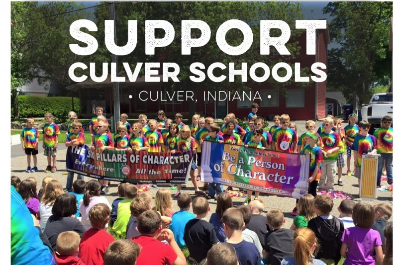 Click here to support Help Culver Schools Marketing Fund by Shelly Master Schrimsher