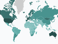 Cancer's Global Footprint | Interactive map of cancer