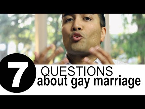 7 Questions About Gay Marriage