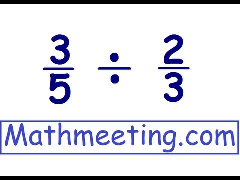 Dividing Fractions