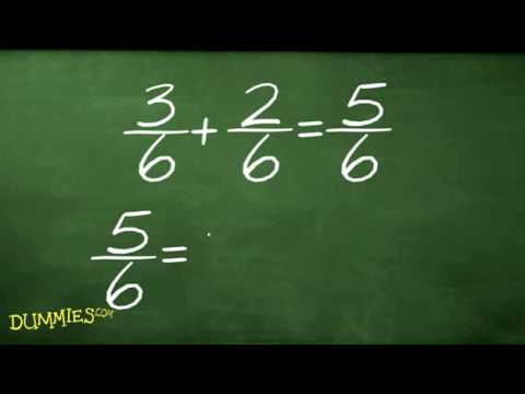 How to Add and Subtract Fractions in Algebra For Dummies