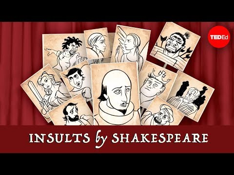 Insults by Shakespeare - April Gudenrath
