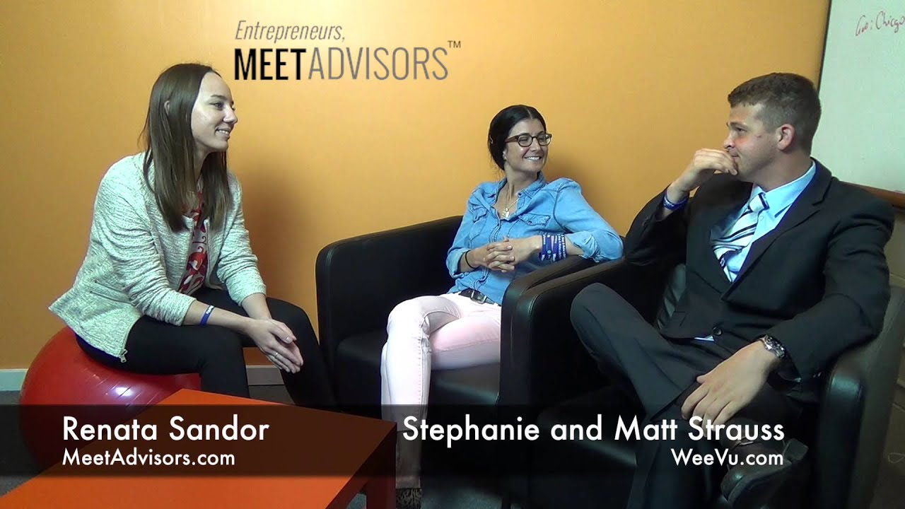 Stephanie and Matt Strauss, Founders of Weevu