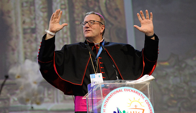 CHRISTIANITY 'RUNNING ON FUMES,' U.S. BISHOP TELLS EUCHARISTIC CONGRESS