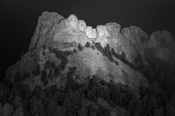 Mount Rushmore National Memorial, South Dakota (Part 1 of 4)