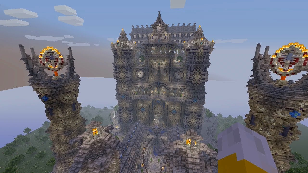 Minecraft Xbox - Palace Of Sodon - Incredible Mega Build