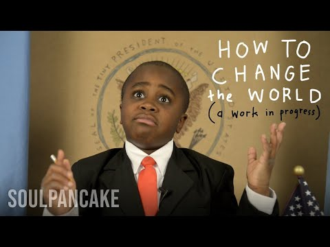 'Kid President - How To Change The World (a work in progress)' on ViewPure