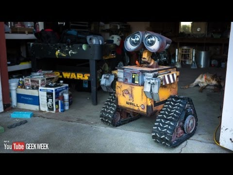 'Making a Real Life-Size Wall-E Robot (Geek Week!)' on ViewPure