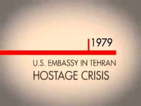 What caused the 1979 US Embassy Hostage Crisis in Iran?