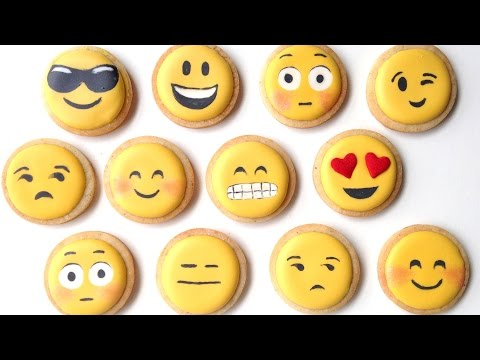 'How To Decorate Emoji Cookies With Royal Icing!' on ViewPure